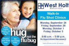 share a hug not the flu bug