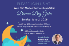 dream big gala invite