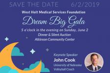 dream big gala invitation