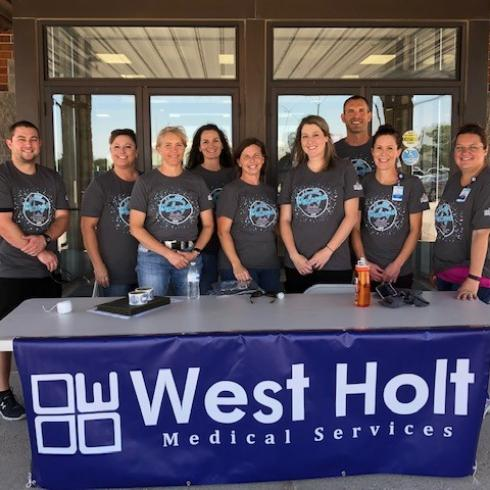 whms employees at healthapalooza event