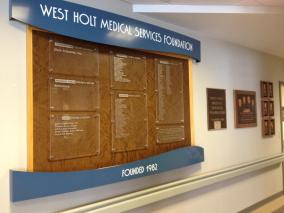 donor recognition board