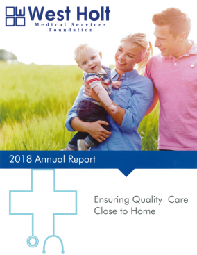 west holt medical services foundation 2018 annual report