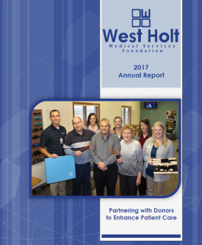 West Medical Services Foundation 2017 Annual Report