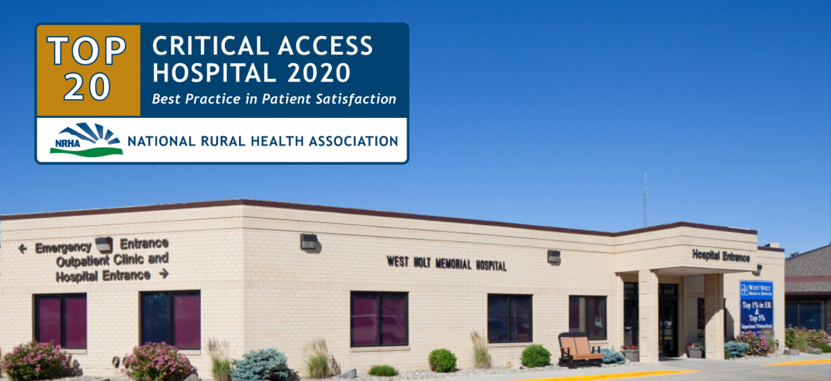 top 20 critical access hospitals